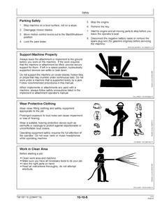 John Deere Z740R manual