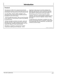 John Deere 2032R manual