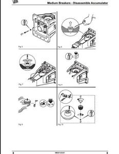JCB HM Range Medium  Large Hydraulic Breakers manual pdf