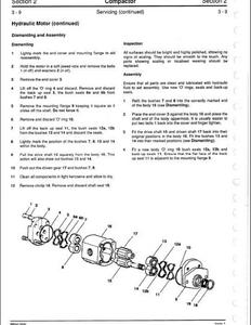 JCB Attachments service manual