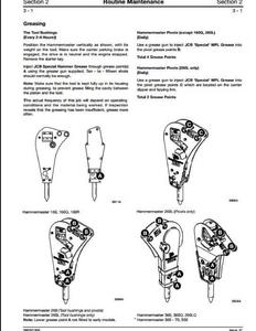 JCB Hammermaster Rockbreakers manual pdf