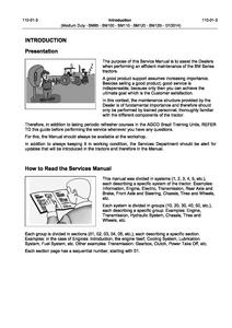 Valtra BM100 Medium Duty Tractor manual