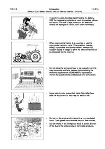 Valtra BM120 Medium Duty Tractor manual