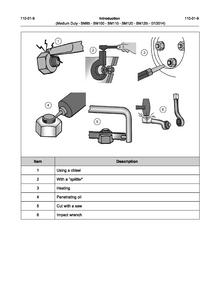 Valtra BM125i Medium Duty Tractor service manual