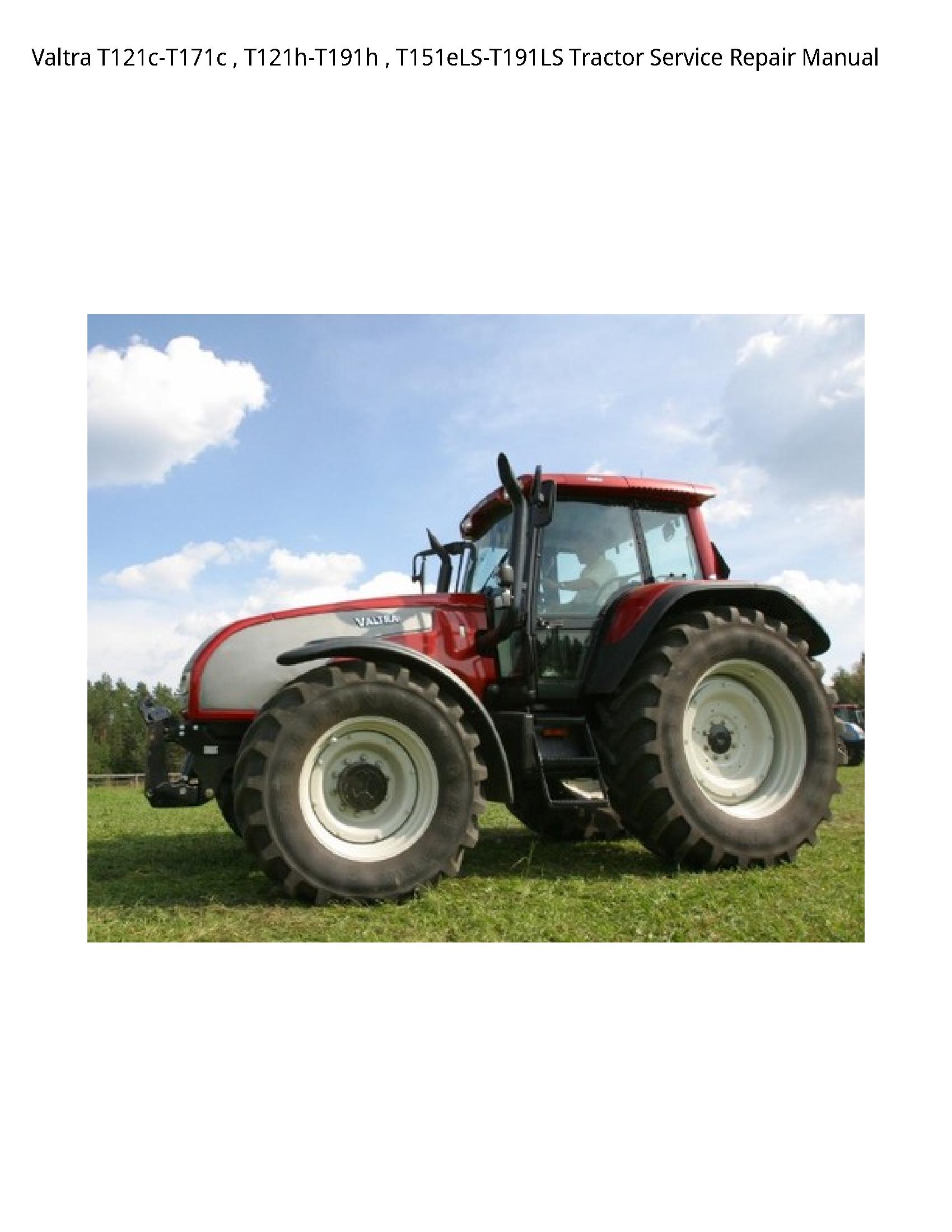 Valtra T121c-T171c Tractor manual