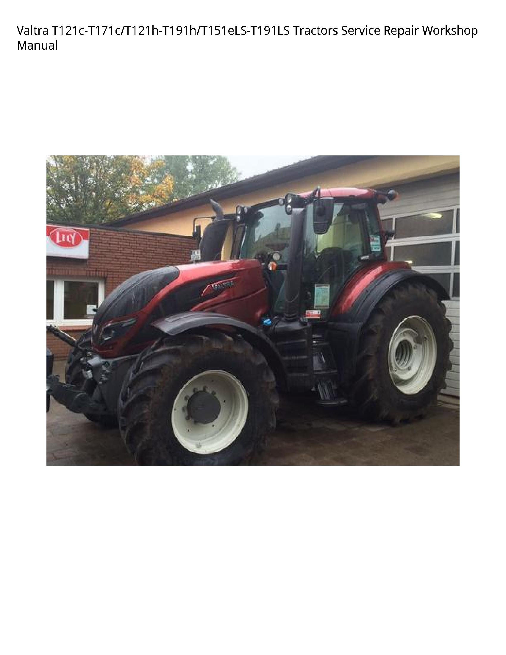 Valtra T121c-T171c Tractors manual